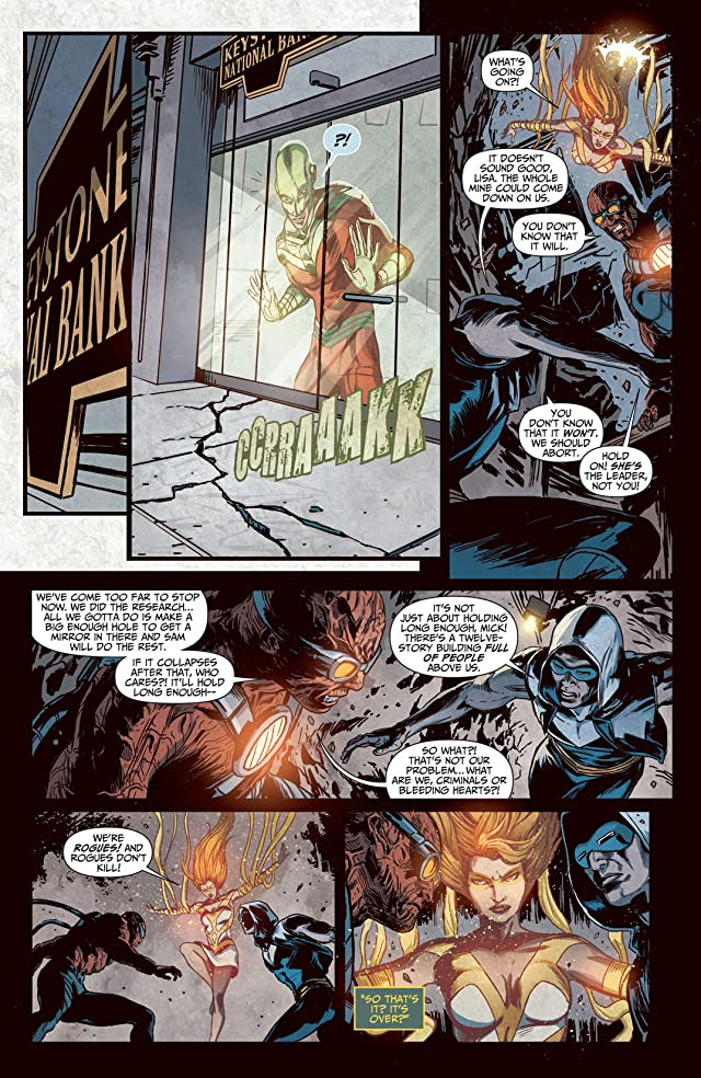 The Flash (2011-) #23.3: Featuring Rogues