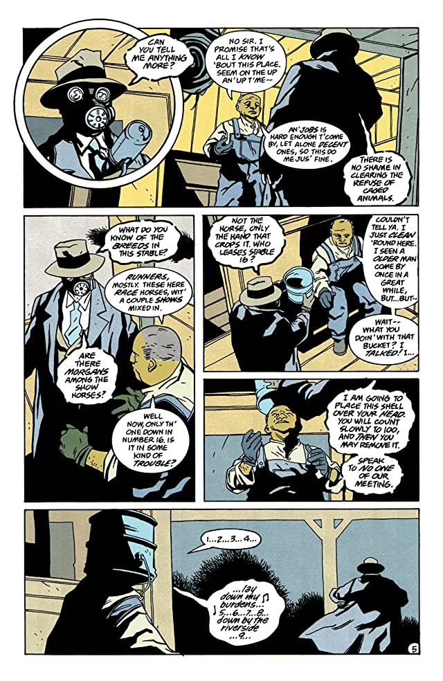 click for super-sized previews of Sandman Mystery Theatre (1993-1999) #46