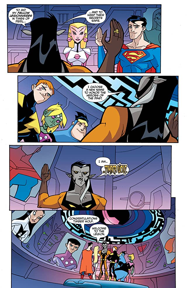 click for super-sized previews of Legion of Super-Heroes in the 31st Century #2