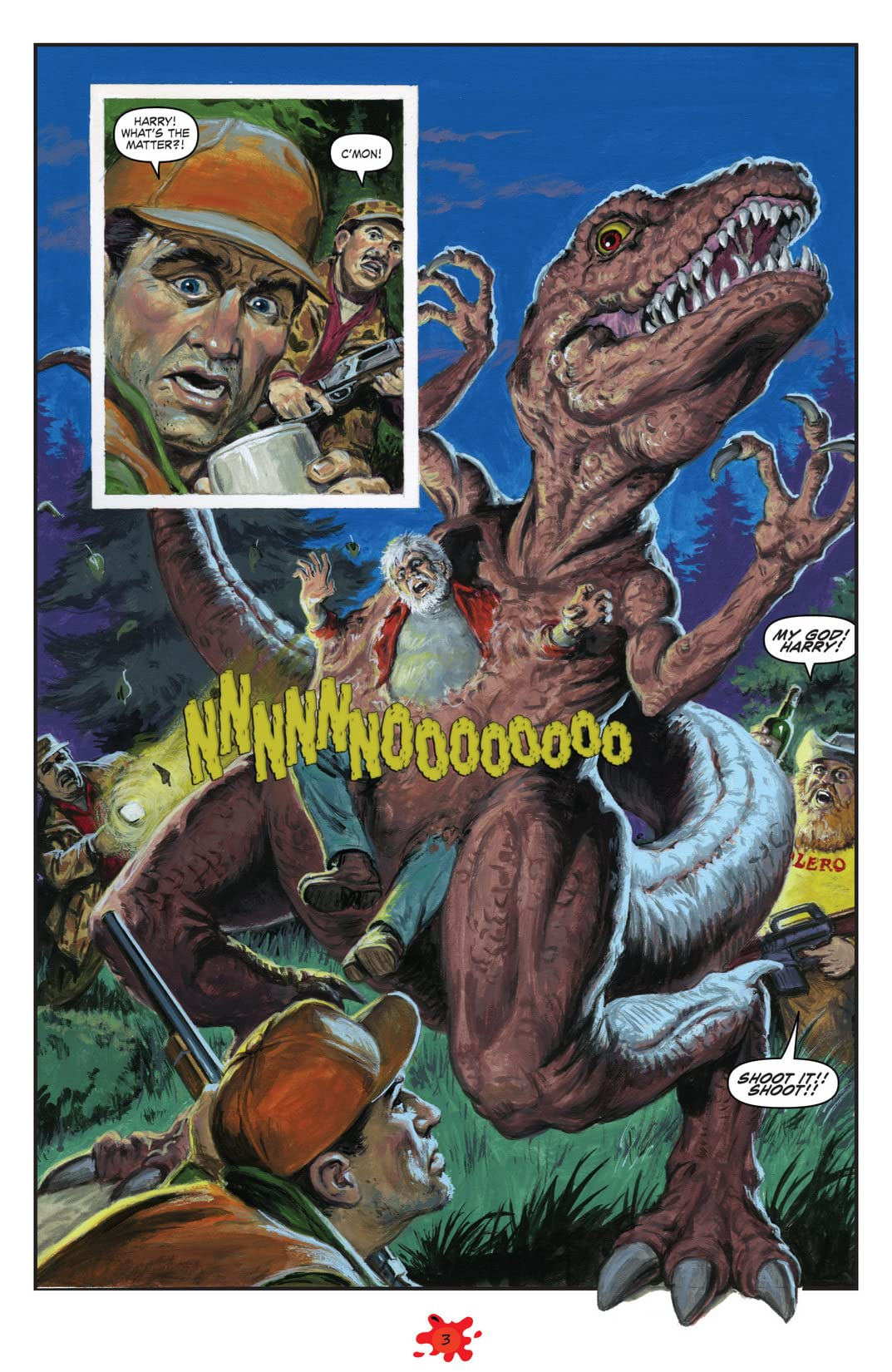 Dinosaurs Attack #3 (of 5)