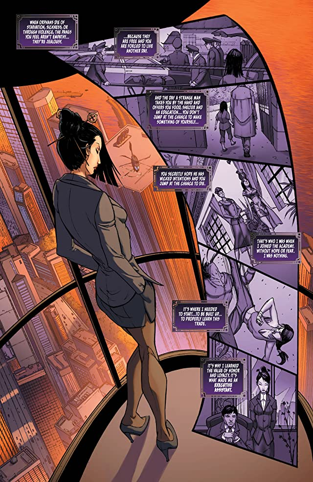 click for super-sized previews of All New Executive Assistant Iris #1
