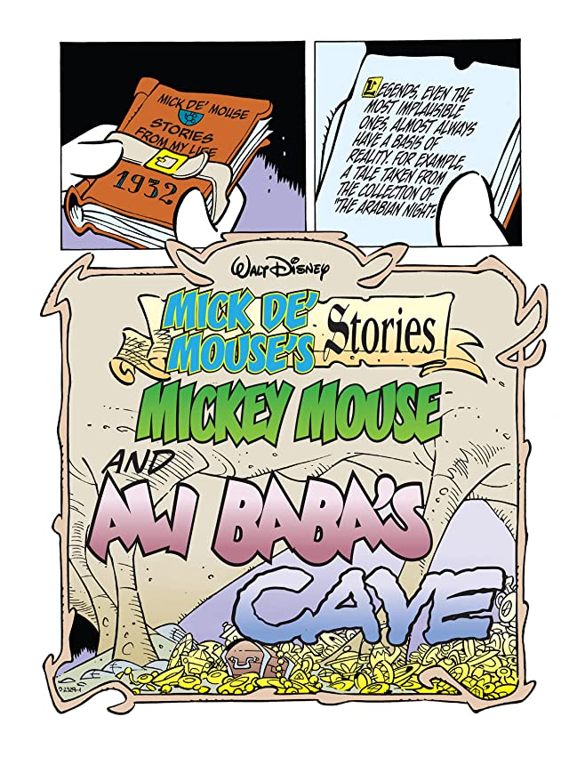 click for super-sized previews of Mick de' Mouse's Stories #6: Mickey Mouse and Ali Baba's Cave