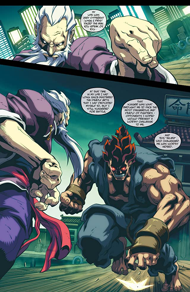 click for super-sized previews of Street Fighter II #4