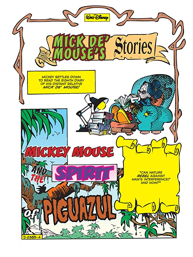 click for super-sized previews of Mick de' Mouse's Stories #8: The Piguazul Spirit