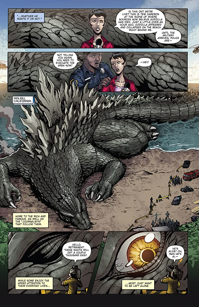 click for super-sized previews of Godzilla: Rulers of Earth #4