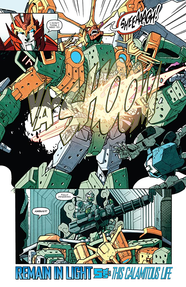 click for super-sized previews of Transformers: More Than Meets the Eye (2011-) #21