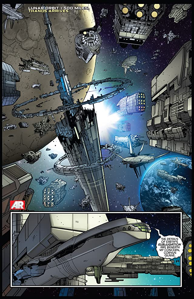 click for super-sized previews of Nova (2013-) #8