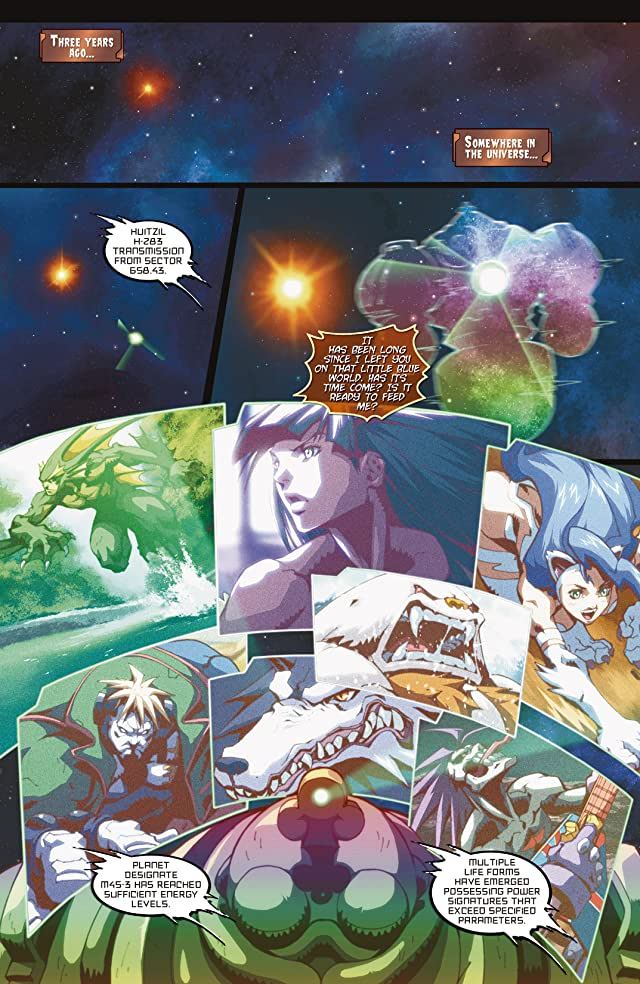 click for super-sized previews of Darkstalkers #2