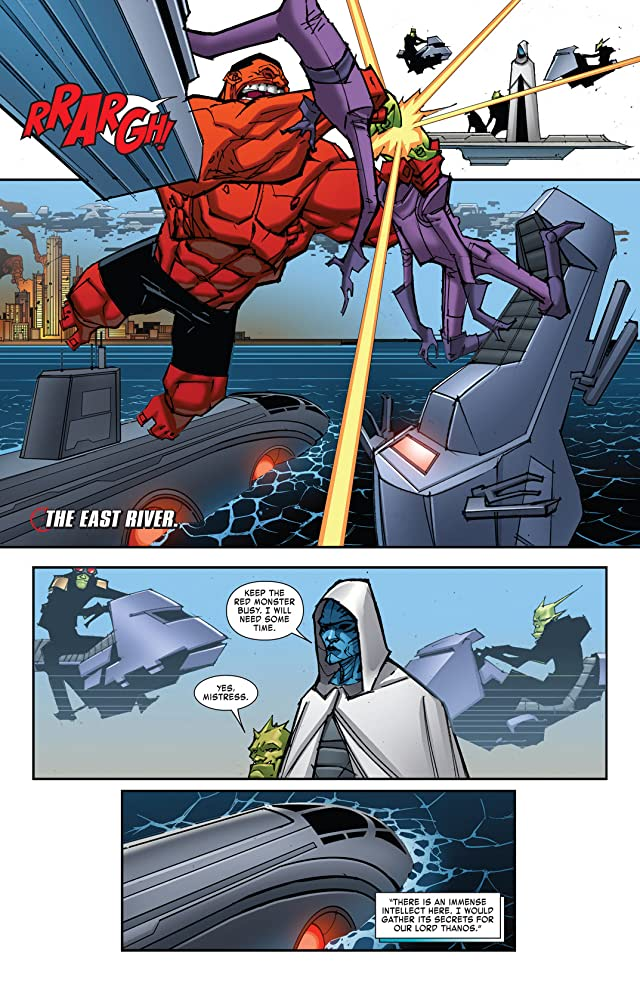 click for super-sized previews of Thunderbolts (2012-) #16