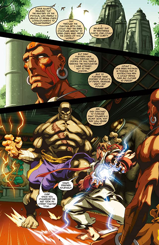 click for super-sized previews of Street Fighter II #2