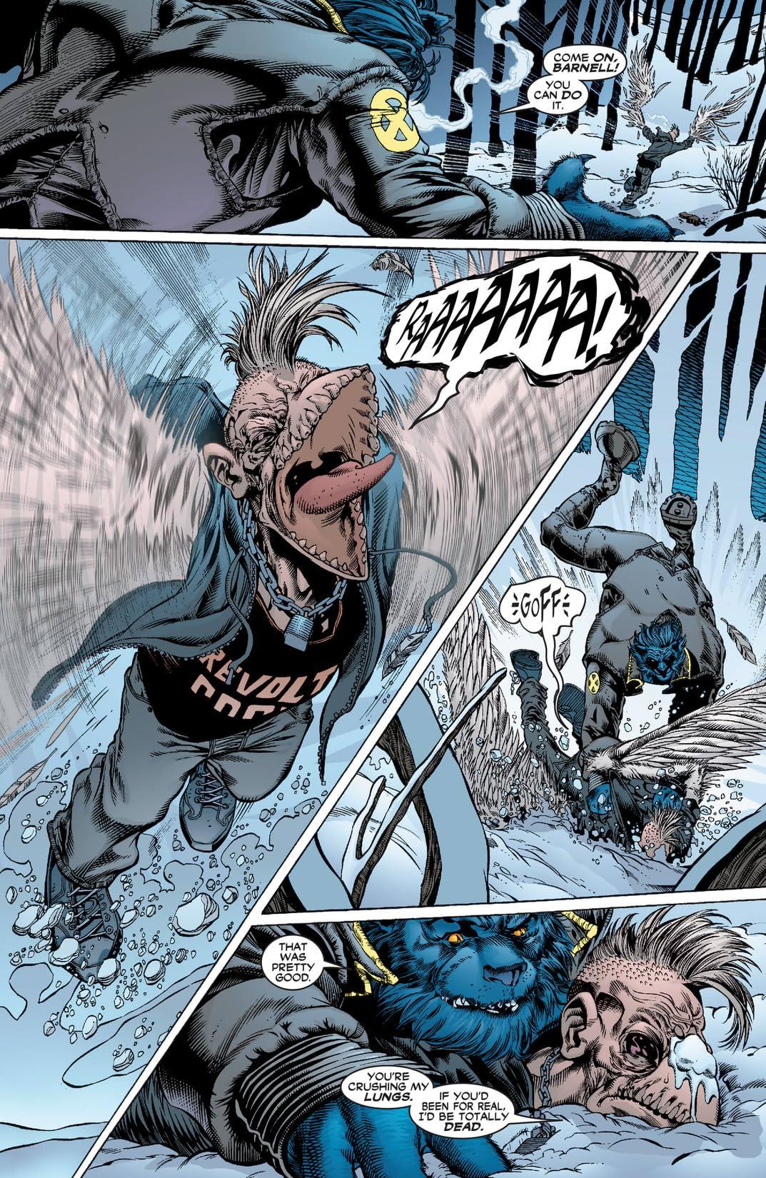 New X-Men (2001-2004) #117