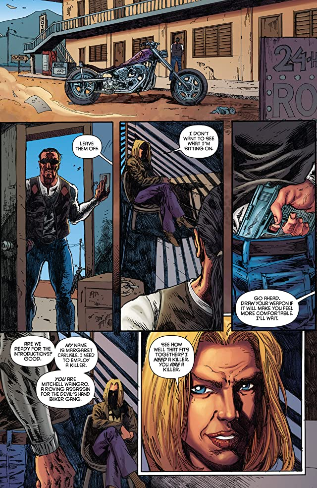 click for super-sized previews of The Bionic Man #24