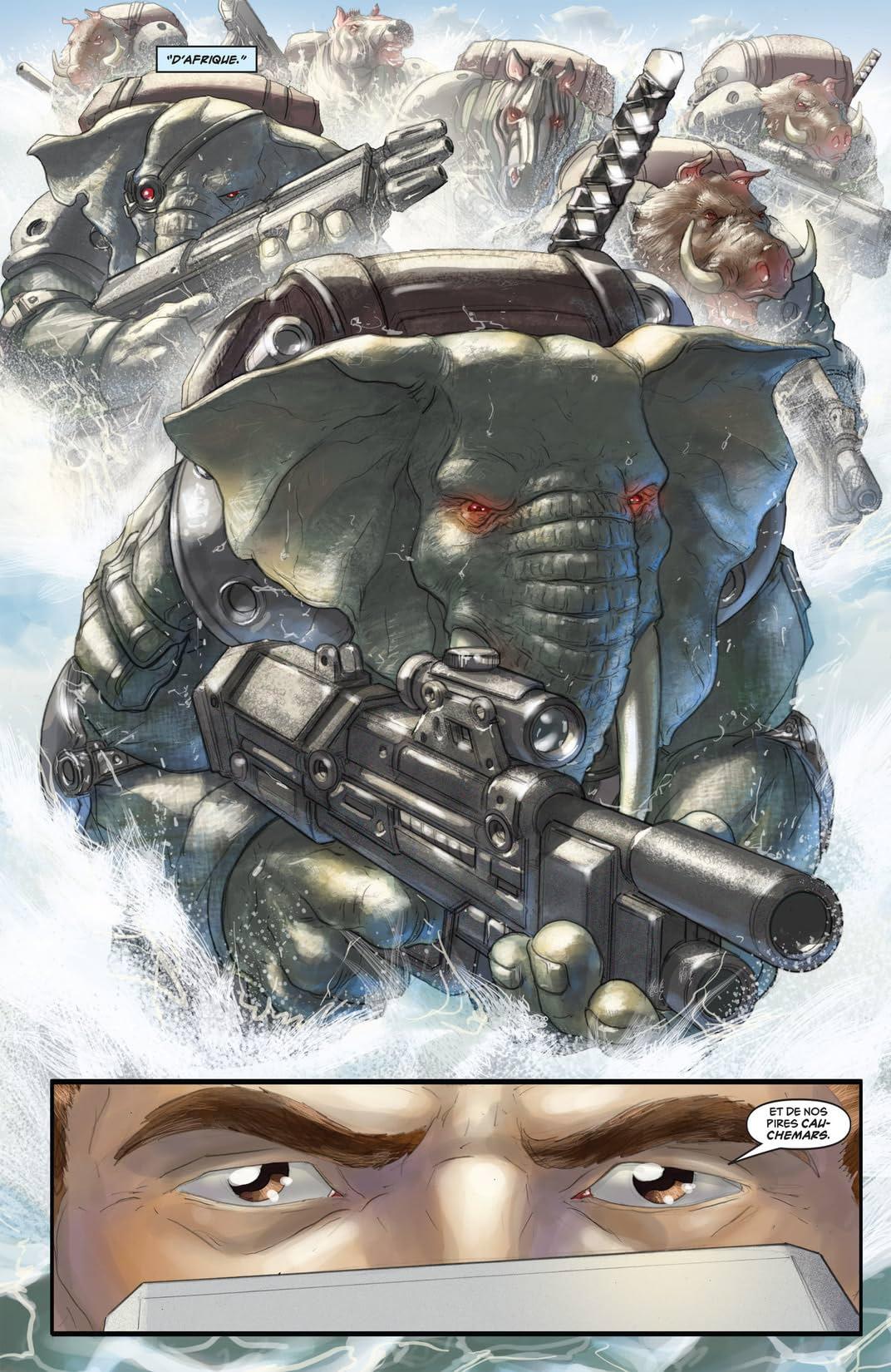 Elephantmen Vol. 1: Jouets de guerre