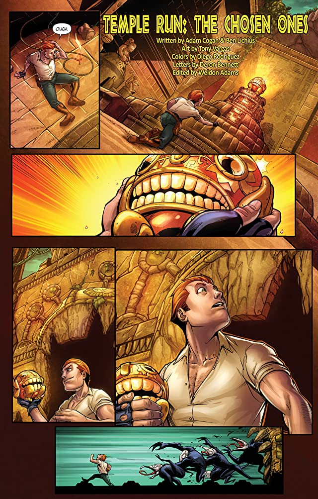 click for super-sized previews of Temple Run #1