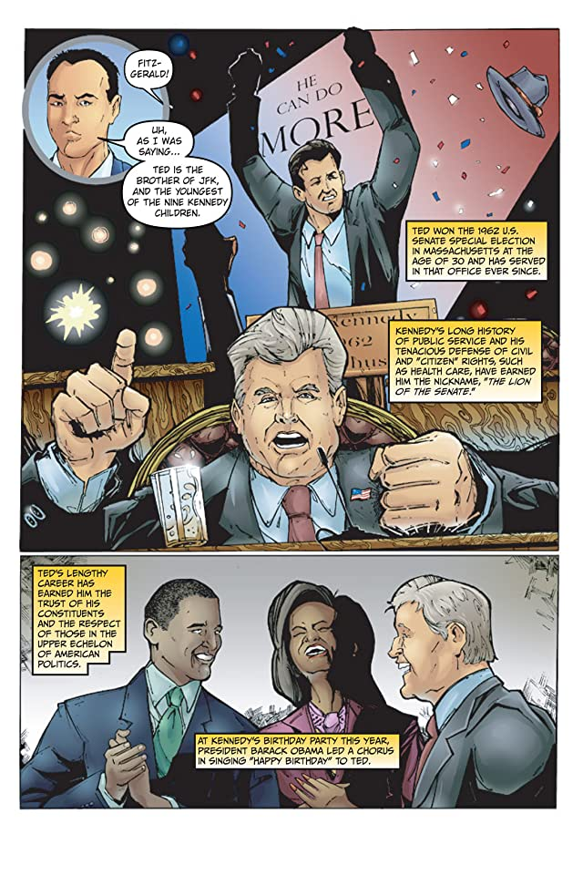 click for super-sized previews of Political Power: Ted Kennedy