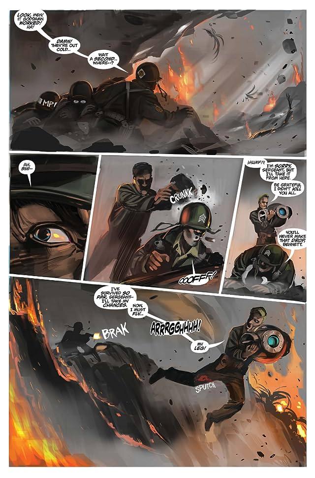 click for super-sized previews of Chronos Commandos: Dawn Patrol #4