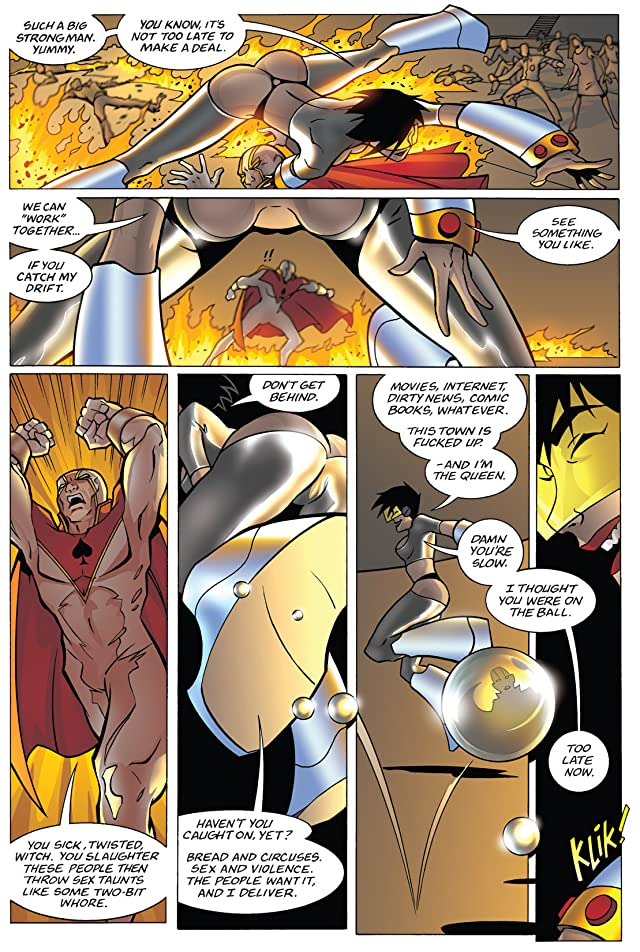 click for super-sized previews of Bomb Queen #3