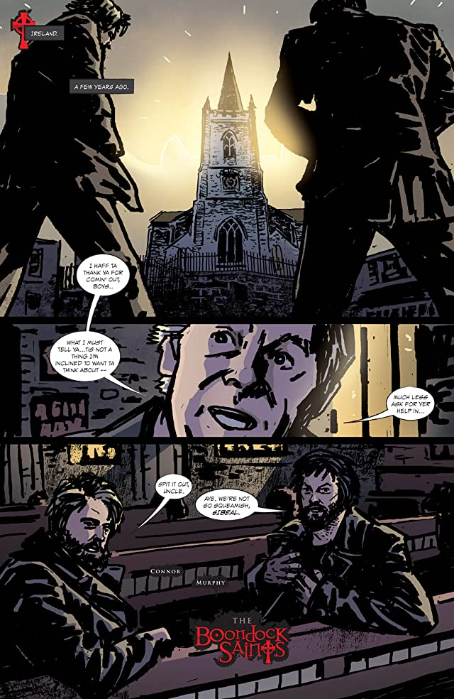 click for super-sized previews of Boondock Saints: In Nomine Patris #4 (of 6)