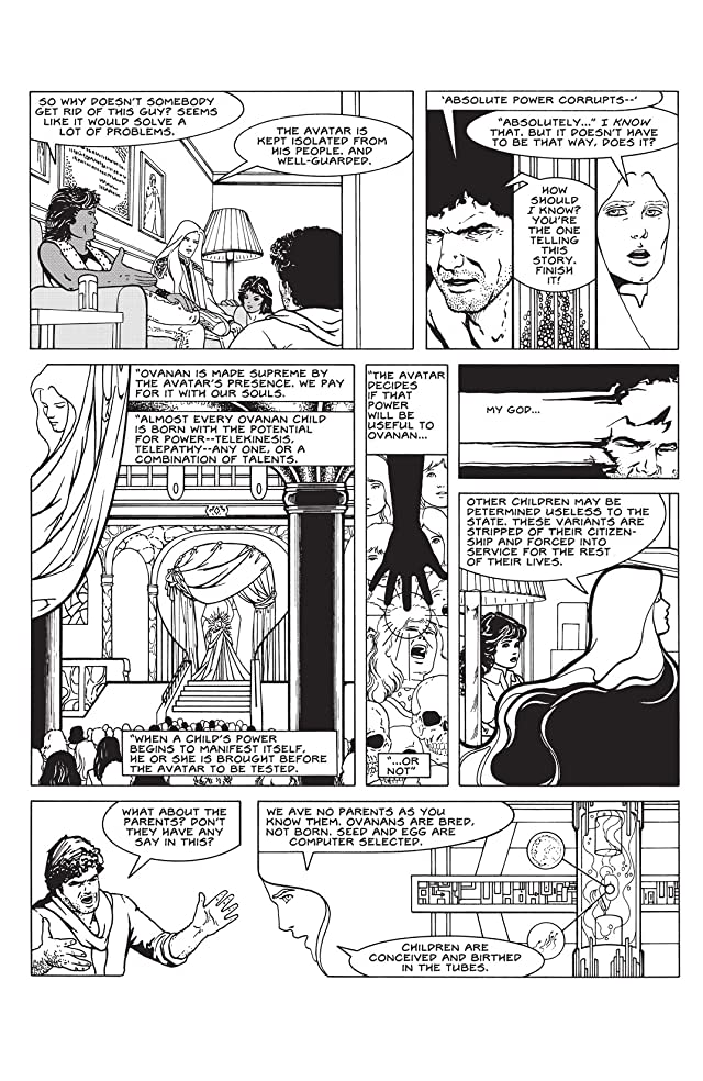 click for super-sized previews of A Distant Soil #3