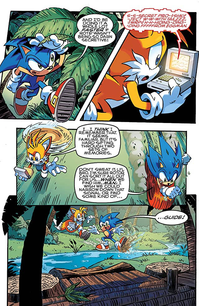 click for super-sized previews of Sonic the Hedgehog #253