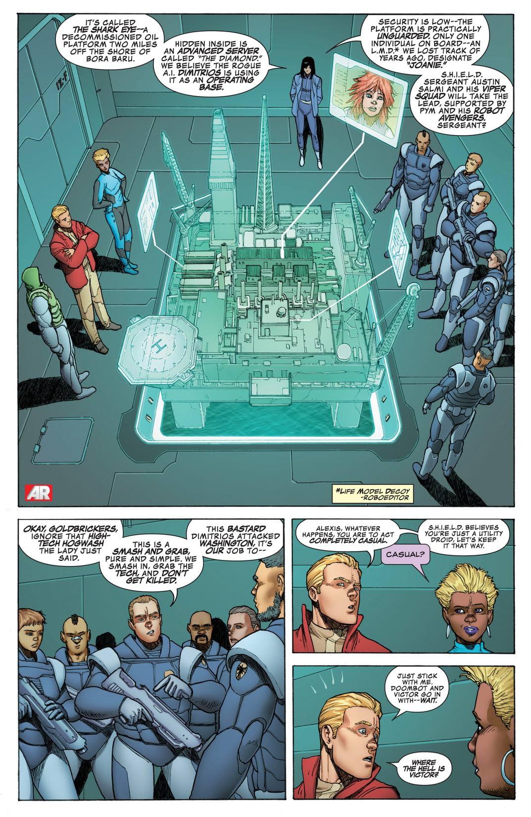 Avengers A.I. (2013-) #4