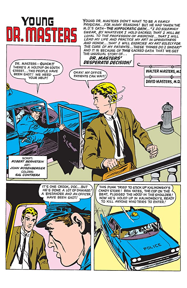 click for super-sized previews of PEP Digital  #56: The Adventures of Young Dr. Masters The Complete Series