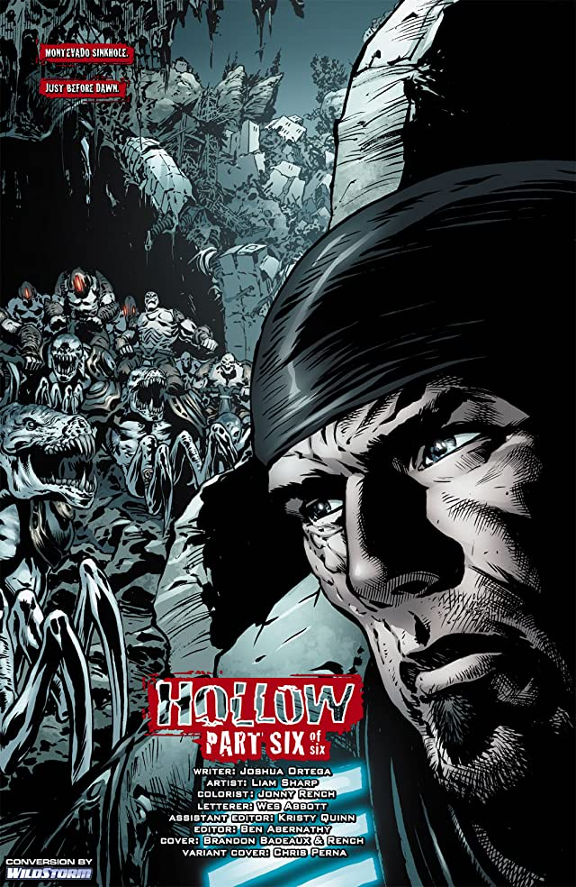 click for super-sized previews of Gears of War #6