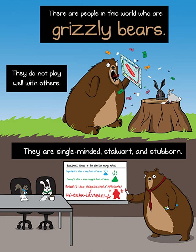 Why Grizzly Bears Should Wear Underpants