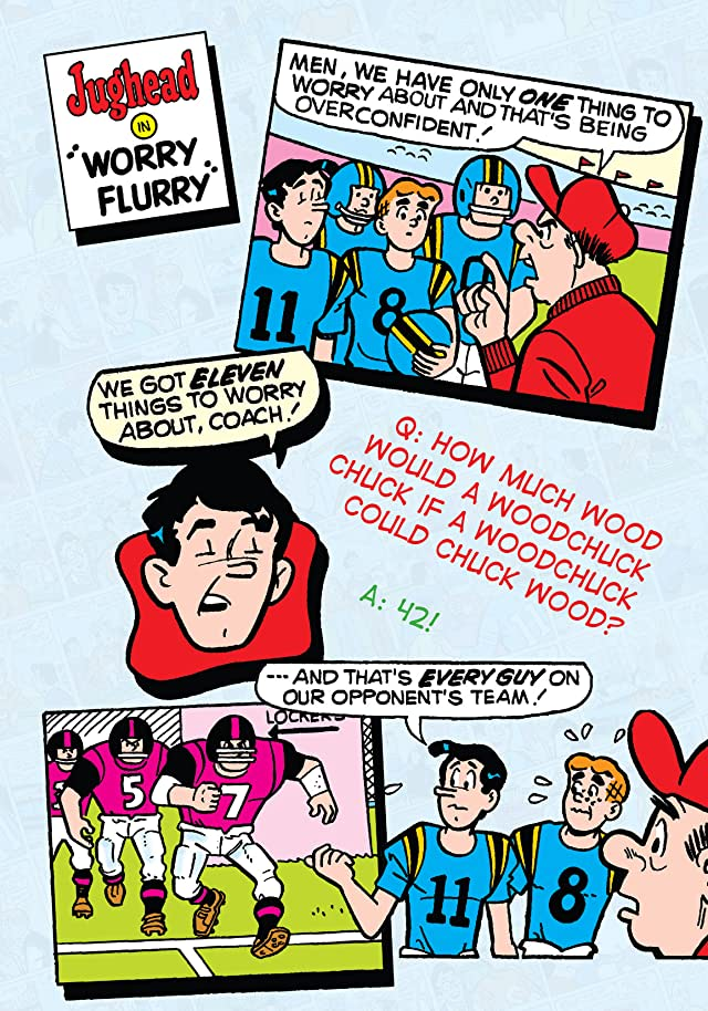 click for super-sized previews of Archie's Funnier Joke Book Vol. 2