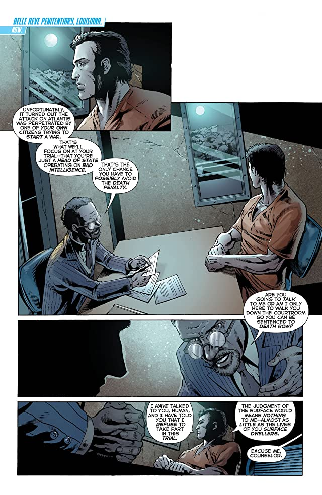 Aquaman (2011-) #23.2: Featuring Ocean Master