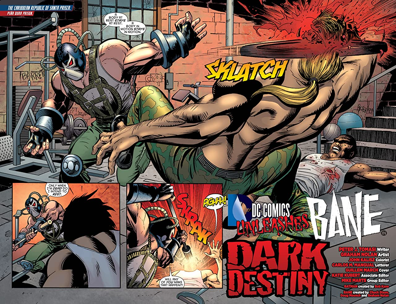 Batman (2011-2016) #23.4: Featuring Bane