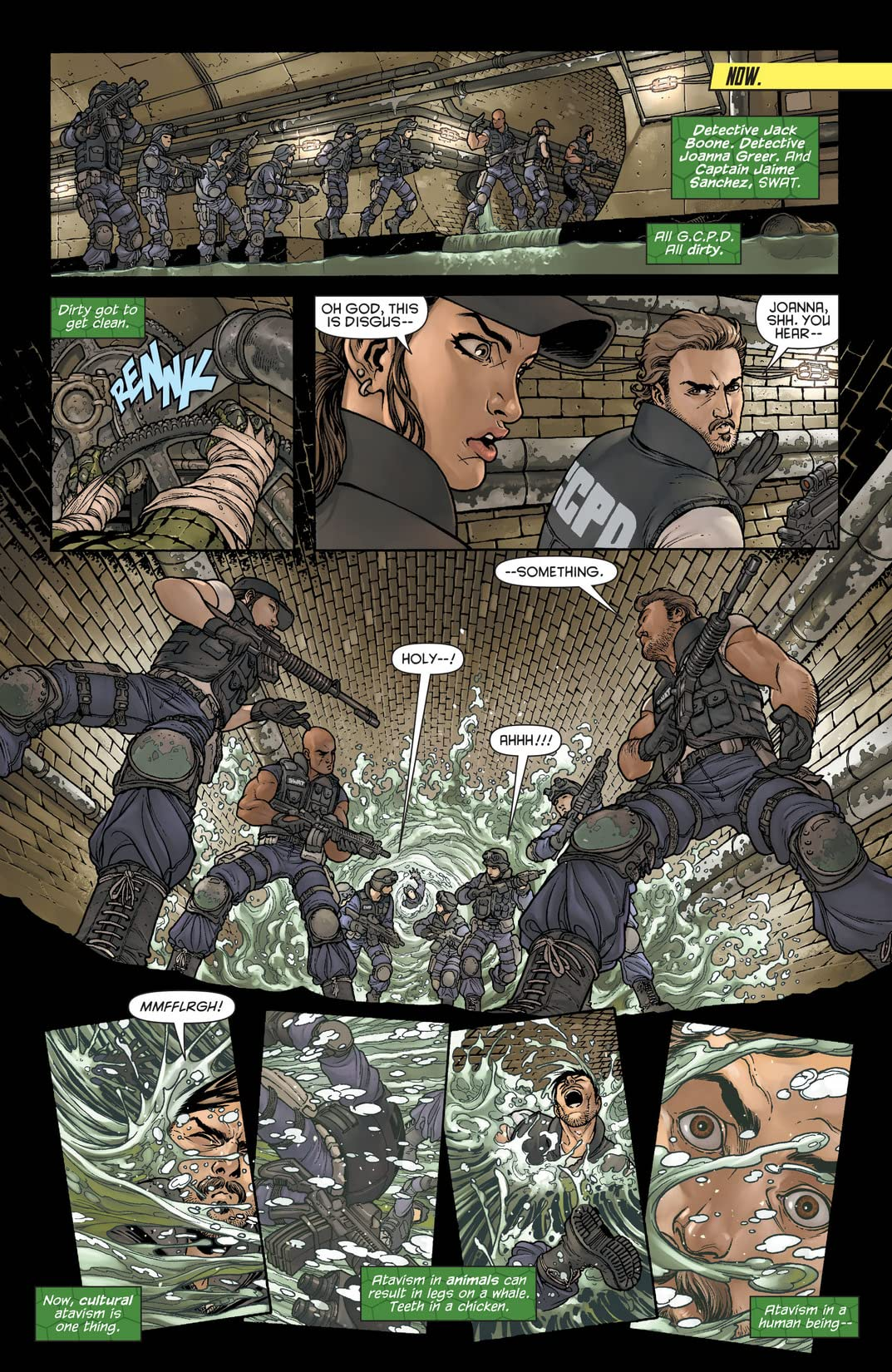Batman and Robin (2011-2015) #23.4: Featuring Killer Croc