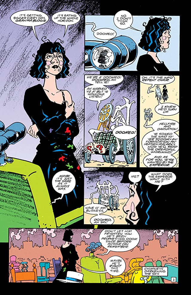 click for super-sized previews of Doom Patrol (1987-1995) #63