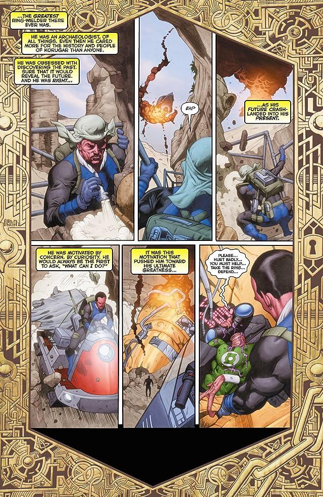 Green Lantern (2011-) #23.4: Featuring Sinestro