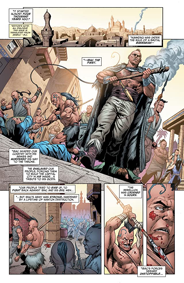 click for super-sized previews of Justice League of America (2013-2015) #7.4: Featuring Black Adam