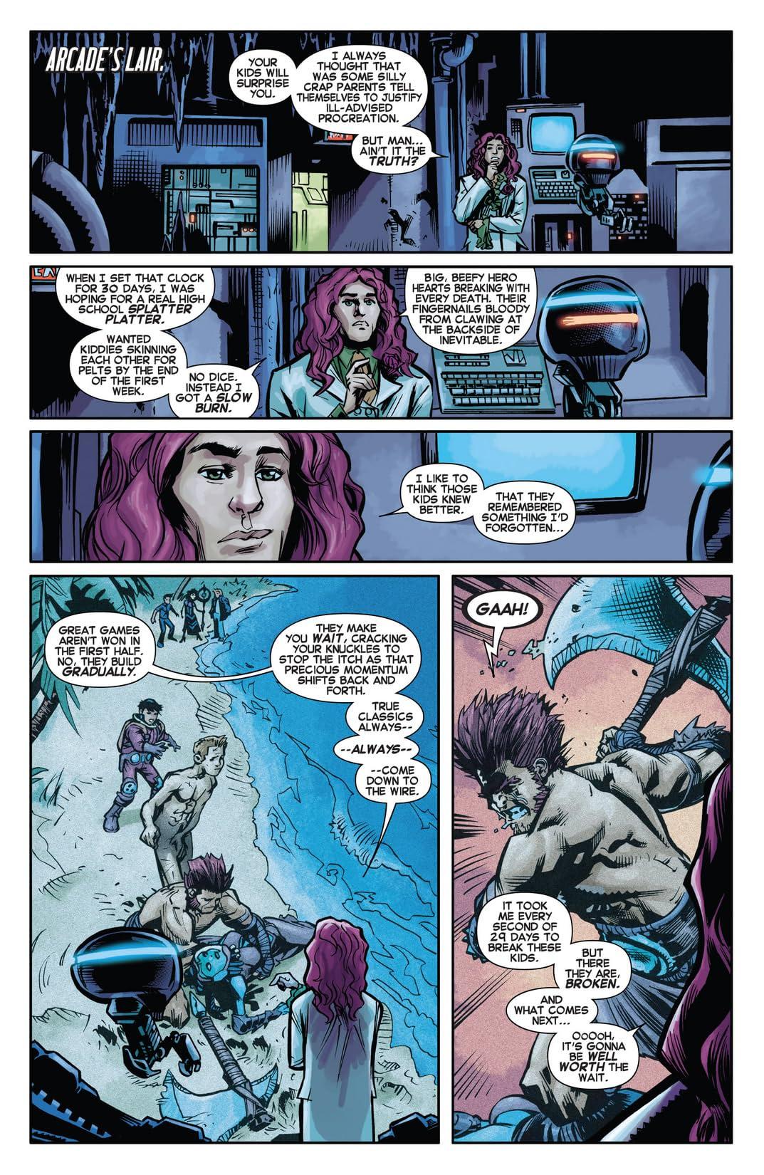 Avengers Arena #16