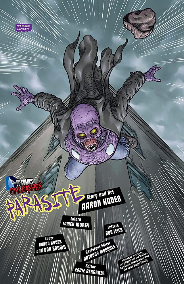 click for super-sized previews of Superman (2011-) #23.4: Featuring Parasite