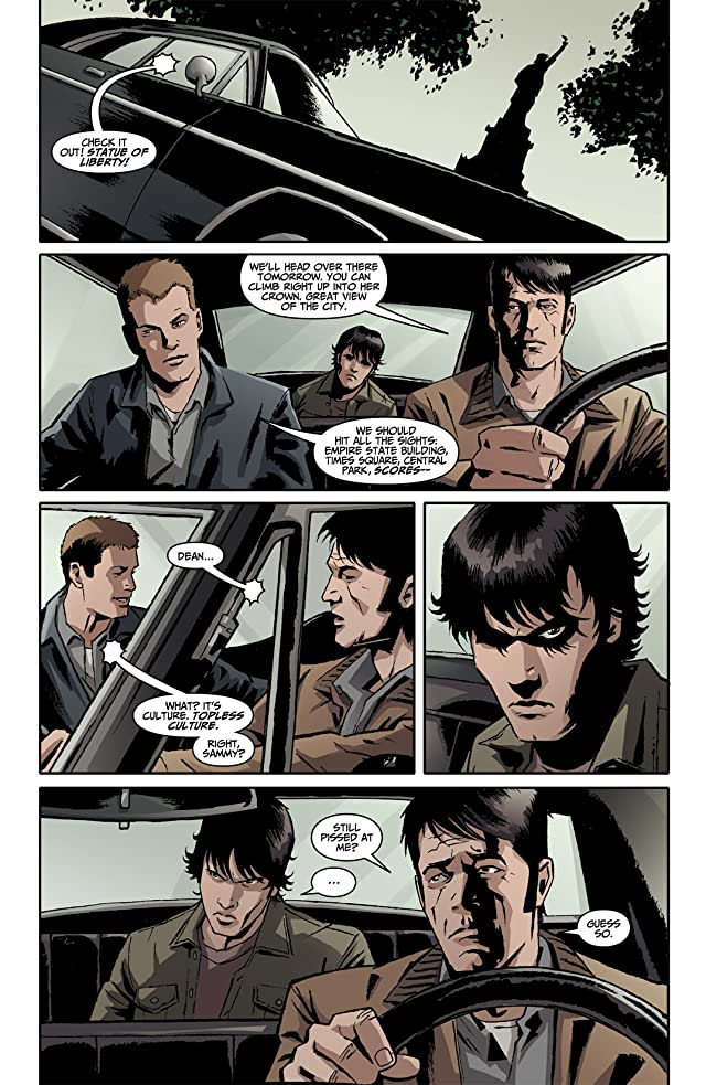 click for super-sized previews of Supernatural: Beginning's End #1
