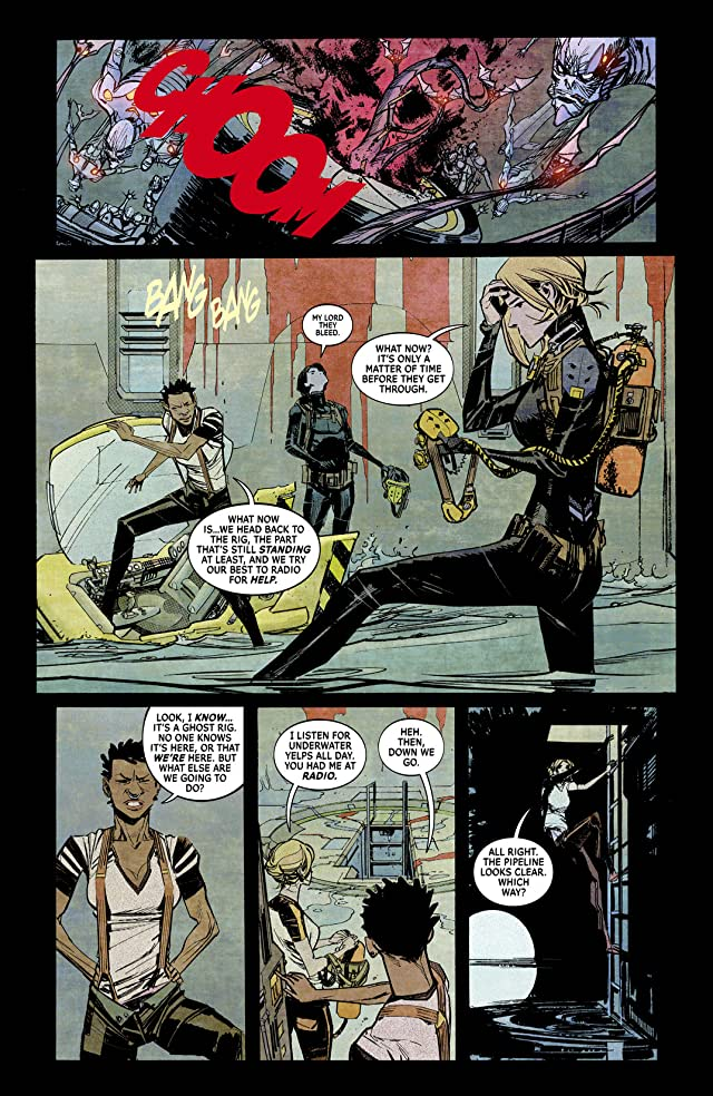 click for super-sized previews of The Wake #4
