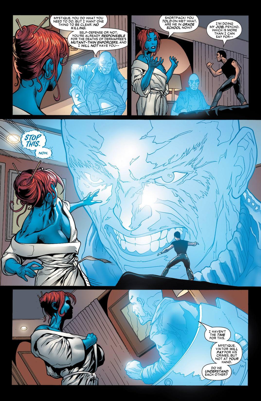 Mystique (2003-2005) #17