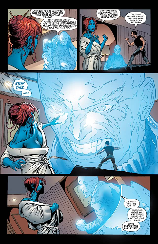 click for super-sized previews of Mystique (2003-2005) #17