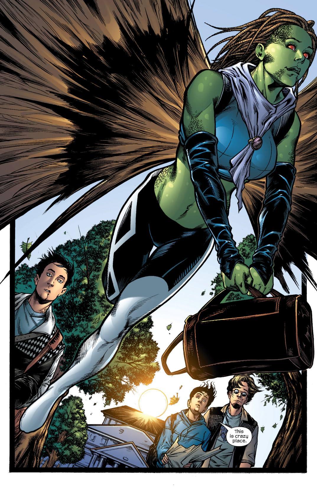 Inhumans (2003-2004) #4