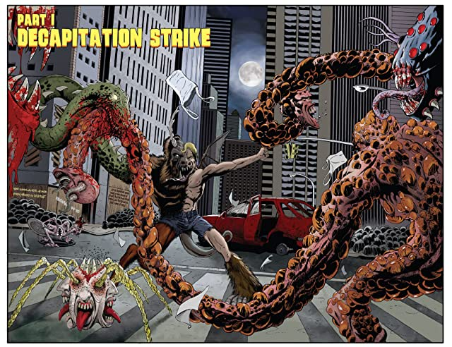 click for super-sized previews of Cryptozoic Man #1: Digital Exclusive Edition