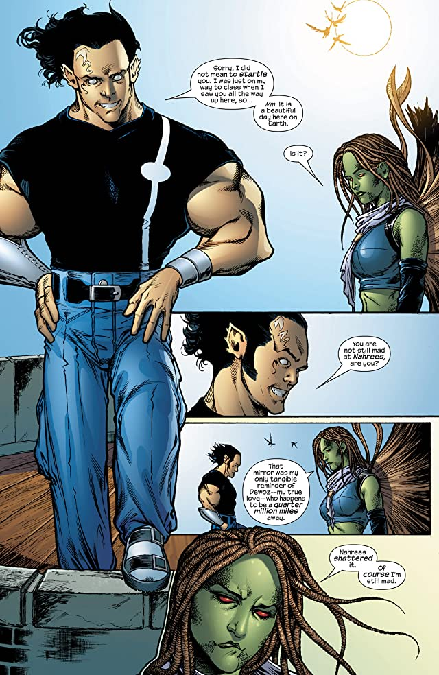 click for super-sized previews of Inhumans (2003-2004) #6
