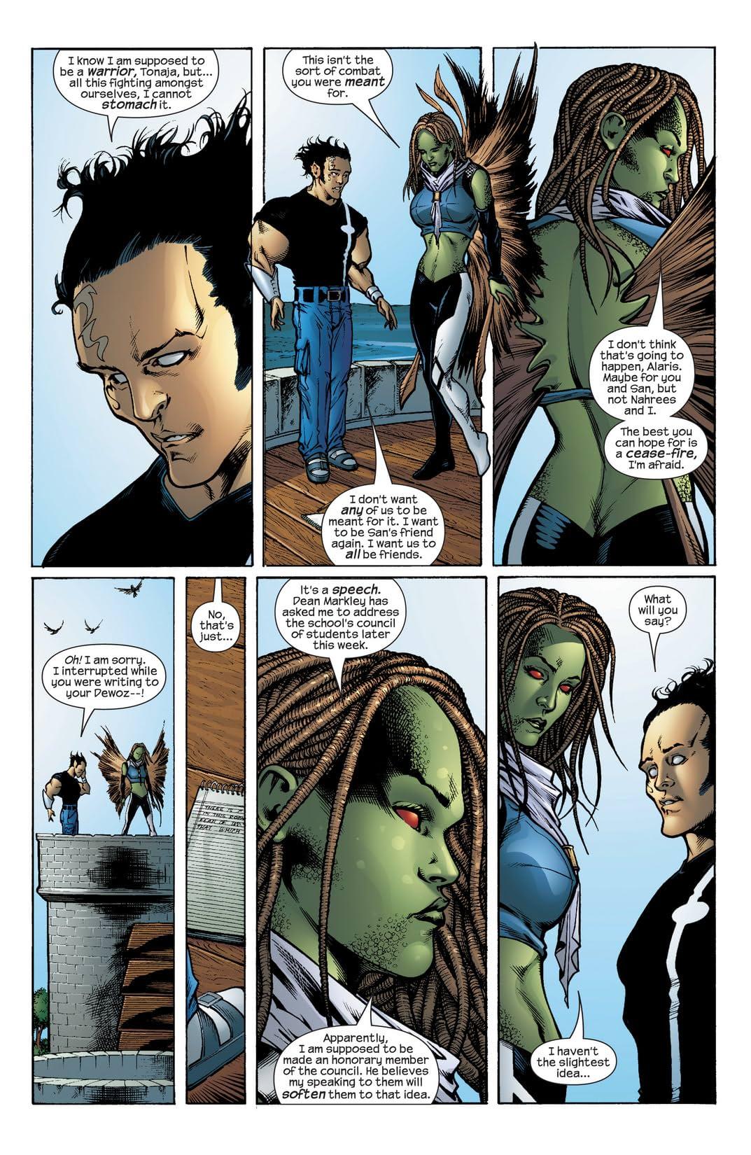 Inhumans (2003-2004) #6