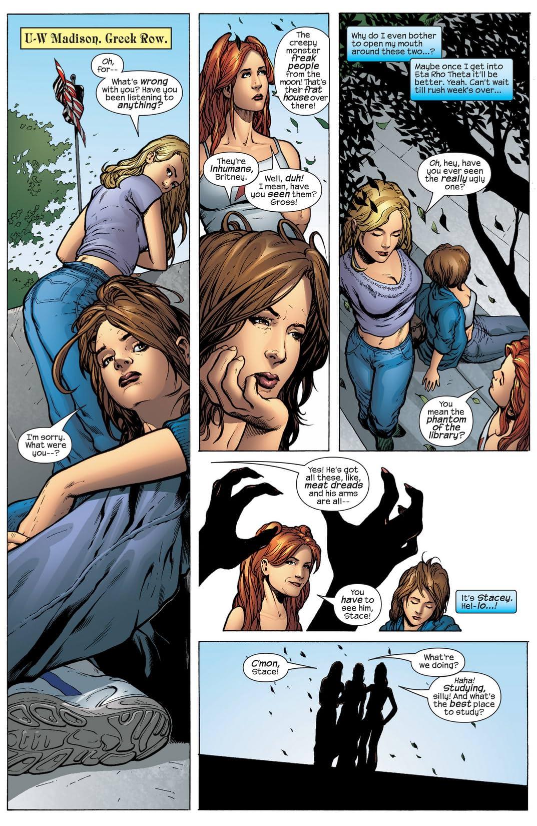Inhumans (2003-2004) #7