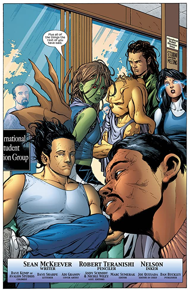 click for super-sized previews of Inhumans (2003-2004) #8