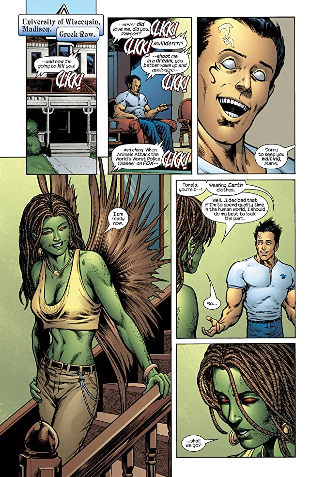 click for super-sized previews of Inhumans (2003-2004) #10