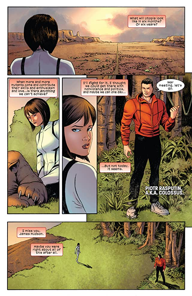 click for super-sized previews of Ultimate Comics X-Men #32