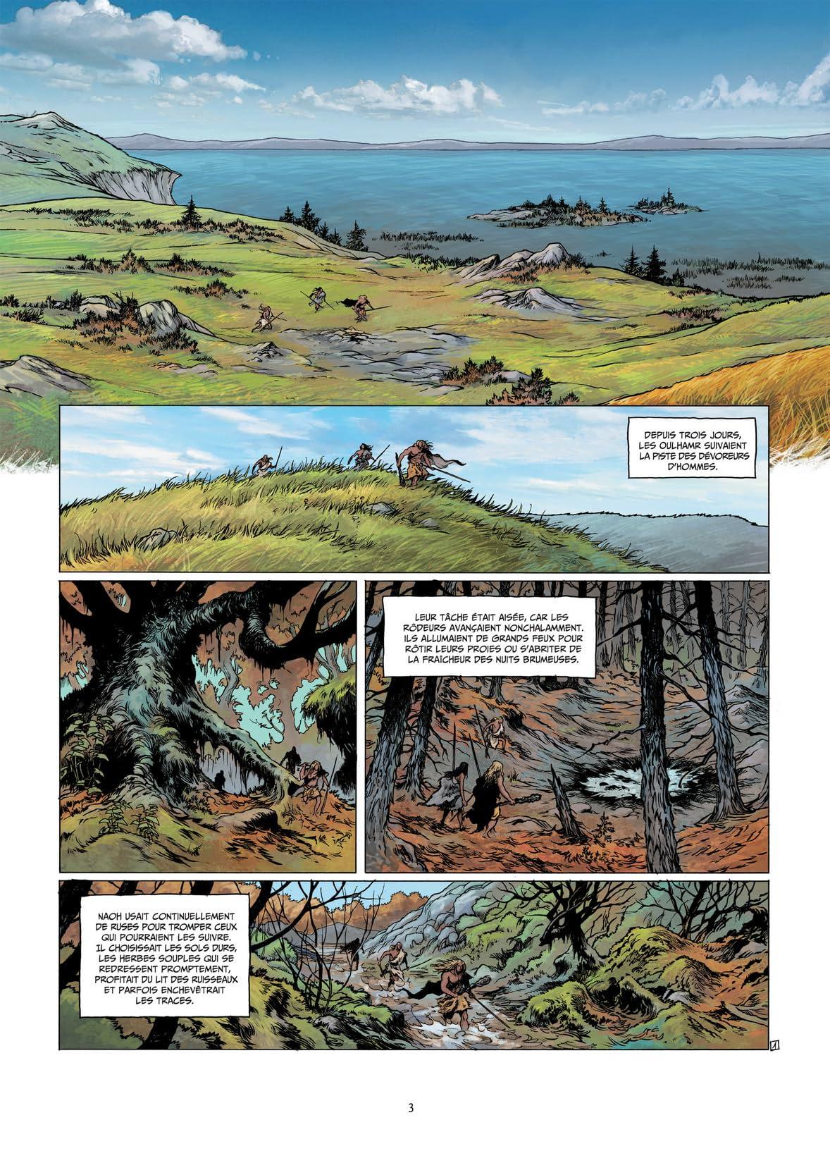 La guerre du feu Vol. 2: Sur les rives du grand fleuve